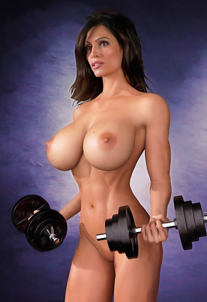 Big boobs celebrities Naked by Erotiscopic – Boobsrealm