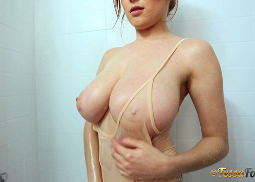 tessa fowler beige shower