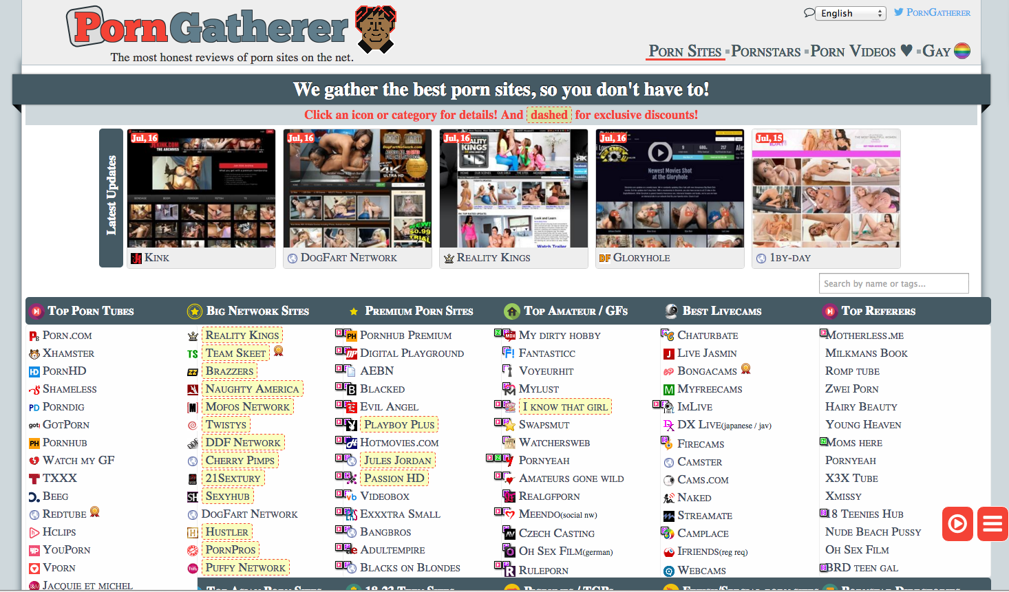 porngatherer porn directory