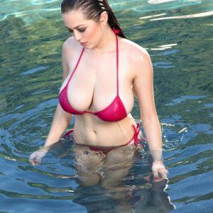 tessa fowler string bikini