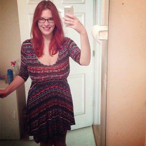 big boobs malynne selfie