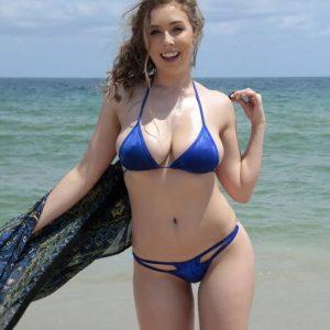 lena paul bikini