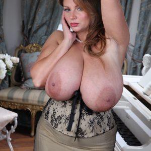 nadine jansen huge boobs