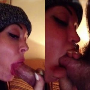 rose mcgowan blowjob