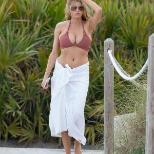 charlotte McKinney beach boobs
