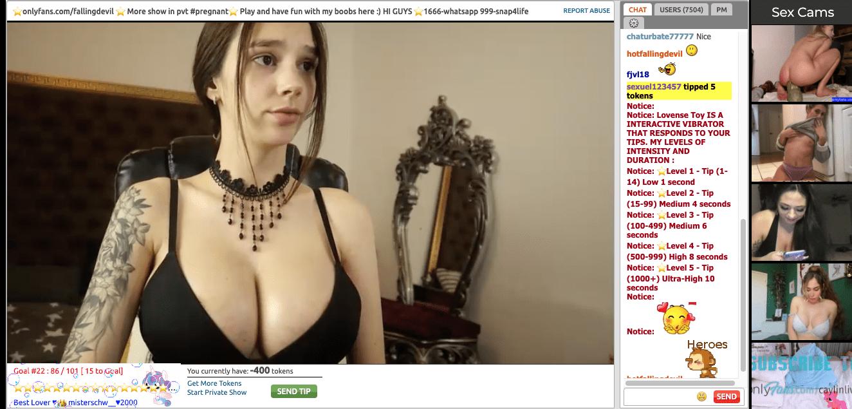 hotfallinangel webcam