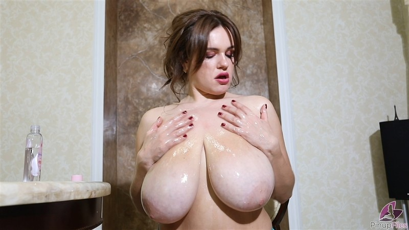 jenny oops oil pinupfiles