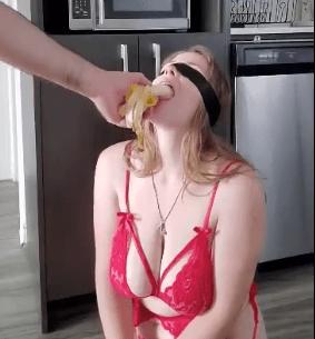 katie savannah blindfolded